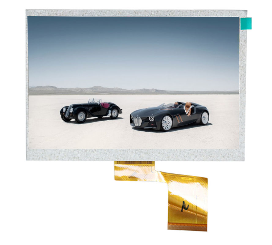 small car tft lcd monitor 7 inches , car rearview lcd monitor CPT 60 PIN 800 * 480